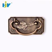 Bronze antigo armário armário armário anel puxa