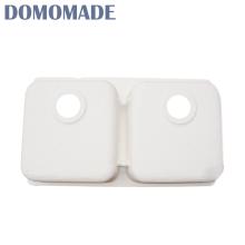 Verschiedene Design Eitelkeit Top Doppelschüssel Waschbecken Waschbecken Küche Lavabo sinkt