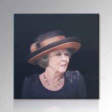 Woman Portrait Canvas Oil Painting