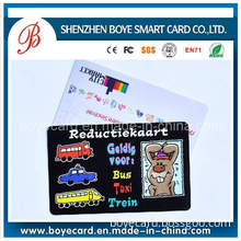 Top Rank PVC Customized Cosplay Game Card