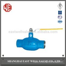 Full flow valves fully welded ball valve