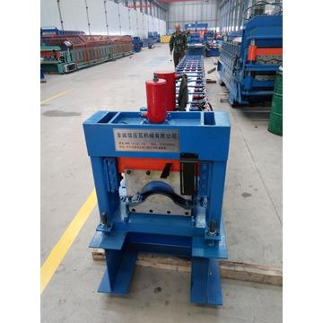 Colored Metal ridge cap making machine