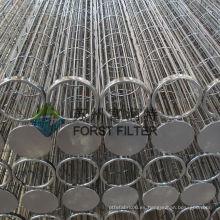 FORST Mejor venta de cartuchos de polvo Industrial filtro jaulas bolsa Proveedor