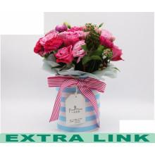 Top Verkauf Elegante Frische Art Romantischen Stil Top-qualität Beliebte Papier Blume Box