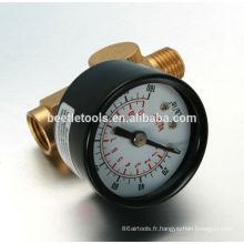 outil pneumatique de régulateur d'air de haute qualité avec jauge