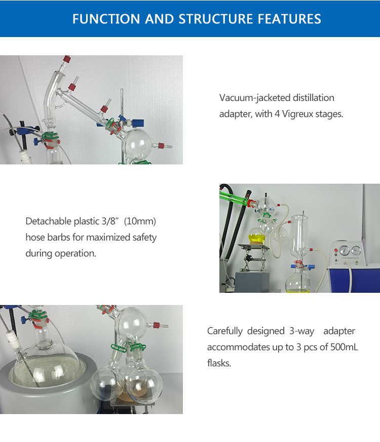 Factory Price 5L Short Path Distillation