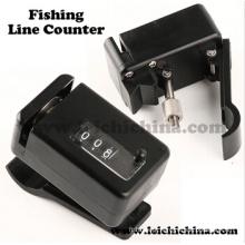 Contador de linha de pesca de ponta