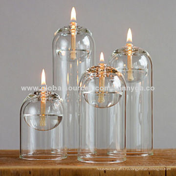 Уникальный дизайн Боросиликатного стекла масляная Лампа с различных серий Размер