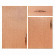 Cabinet Door, MDF Faced with Double Sides of Beech Wood Veneer, Natural Beech Color
