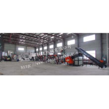 Agriculture film recycling machine line