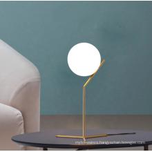 3D Moon Table Light Modern Golden Iron Decoration Desk Table Lamp