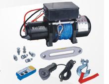 5000 の lb と合成繊維ロープ電動ウインチ