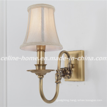 2015 Hot Sale Iron Wall Lamp with Fabric Shade (SL2078-1W)
