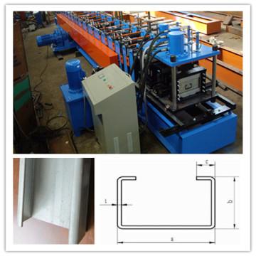 Volle automatische C-Purlin-kalte Rolle, die Maschine mit C Purlin Thickenss 2-3mm bildet