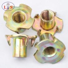 Écrous de bride à vis hexagonale en zinc avec bonne qualité