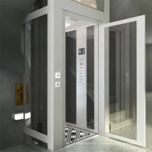 400кг 0,4 м/с дешевые крытый стеклянной небольшой дом Лифт
