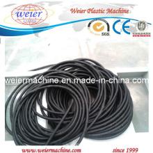 Ligne de production de tuyaux de conduites en PVC flexible en plastique