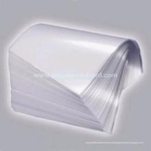 Sobreposição de filme de laminação personalizada do fornecedor de fábrica para cartão de plástico de PVC