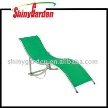 Chaise longue en aluminium de piscine de style européen de plage de loisirs de style européen moderne