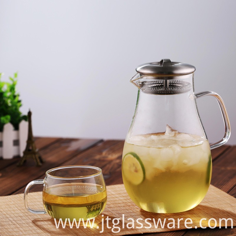 Beverage Pitcher for Homemade Juice & Iced Tea