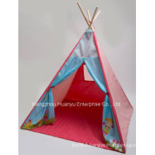 Factory Supply Colorful Girl Tent with Bottom