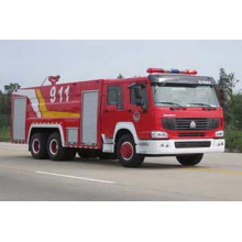 Camión de lucha contra incendios de HOWO 8000L (ZZ1257M4647C)