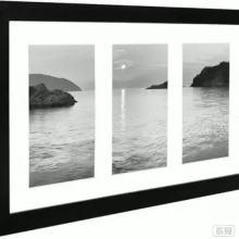 Marco de fotos 8 x 10 con tapete para fotos de 3/4/9