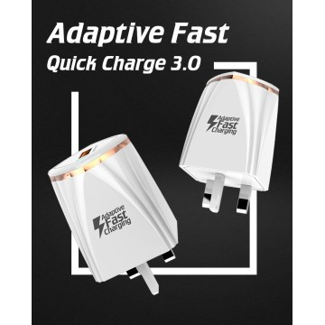 Adattatore Quick Charge QC3.0 USB 2 porte Desktop