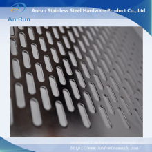 Perforiertes Schlitzloch Metallgewebe als Sieb verwendet