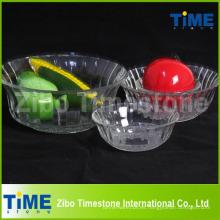 Tazón de fuente de cristal de la venta caliente