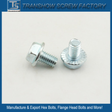 1/4X3/4 Unc China Produce Serrated Flange Screw