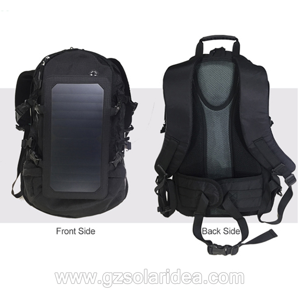 solar panel backpack charger