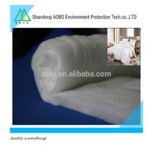 Tissu non-tissé collé par pulvérisation de polyester / ouate de coton