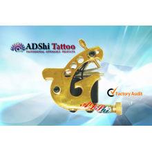 ADShi dorado especial birdlike diseño pistola ajustable mano tatuaje