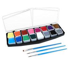 Vibrant color Hypo Allergenic face body paints set