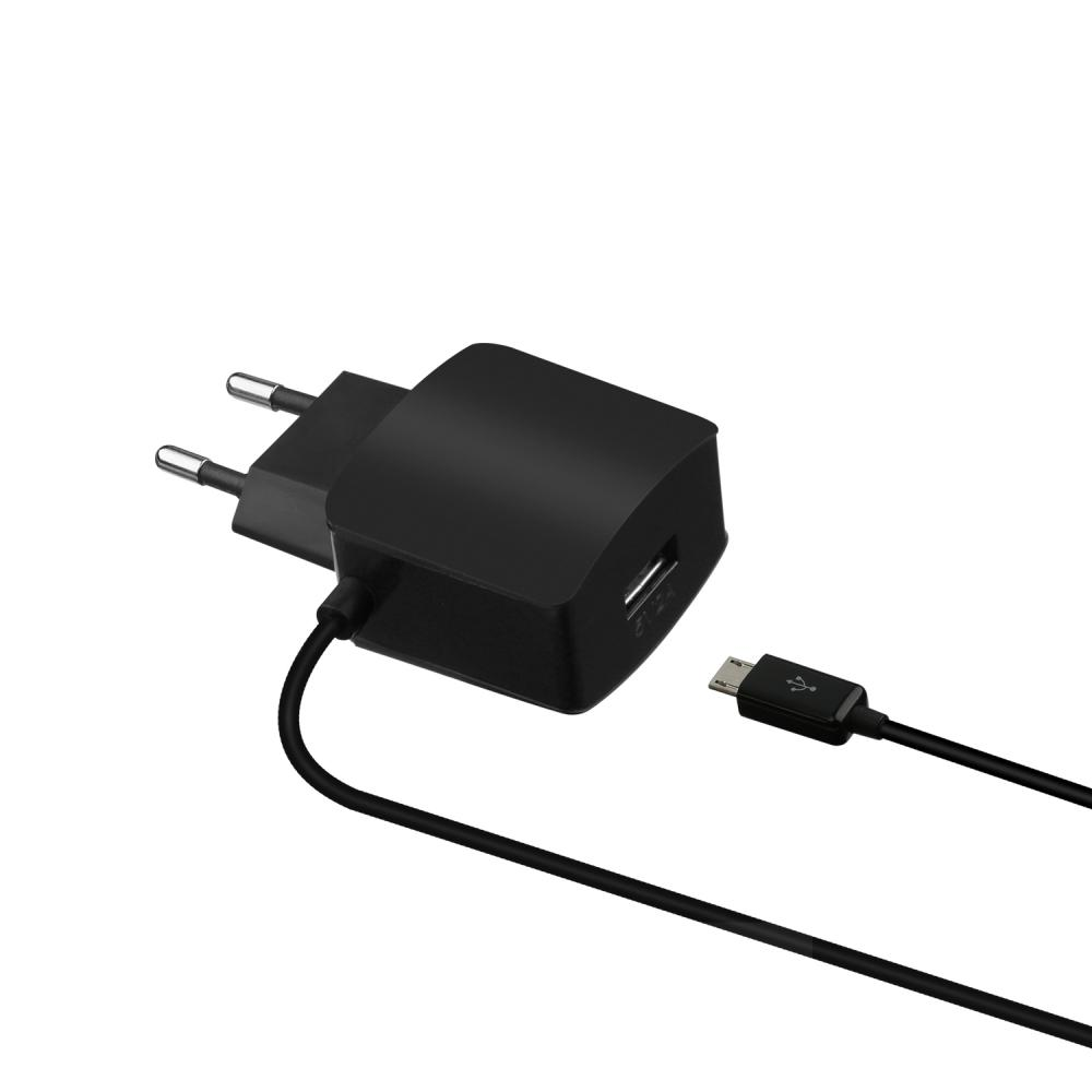 USB Power Socket Adapter with Micro-USB Cable