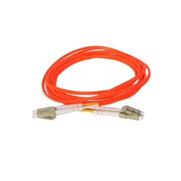 MM Duplex Conector LC / LC Fibra Óptica Patch Cord
