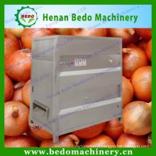 Máquina de casca industrial da cebola da venda quente da fonte da fábrica de China, máquina comercial do descascador da cebola