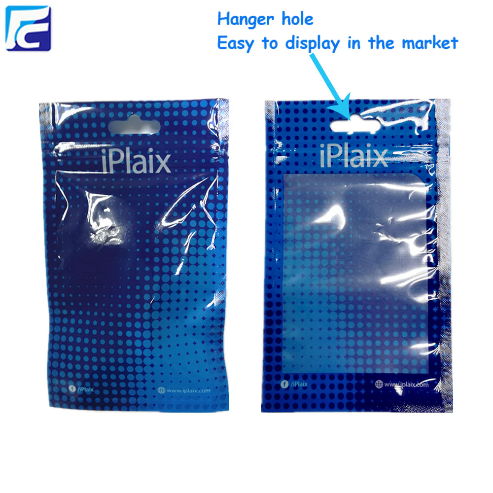 mobile phone accessories plastic bags