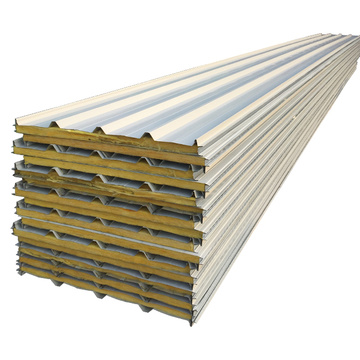 Anti-Feuer isolierte Rockwool Sandwich Panels