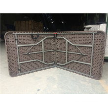Rattan Plastic Folding Table Set