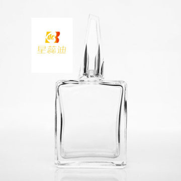 Capuchon de bouteille en plastique argenté Capuchons de parfum