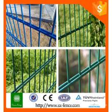 2.0m de altura proteger alambre doble 868 malla de malla, doble valla