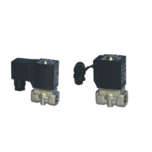 Direct acting and normally closed type 2/2 way solenoid valve 2L series fluid control valves