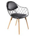 Magis Pina Chair with PU Leather Cushion