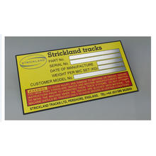 Permanent Adhesive Metal Label Custom Metal Brand Logo Labels