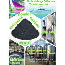 Carbone activé à base de poudre de bois pour filtre à eau