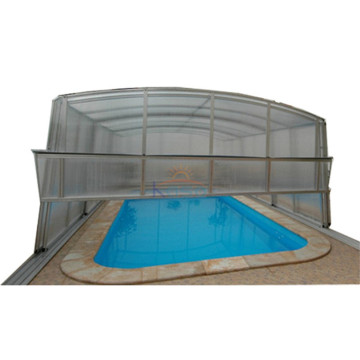Hard Top Swimming Drain Pool Recubrimiento automático
