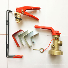 Factory produce chemical powder fire extinguisher holder / fire extinguisher bracket