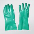 Green Color Neoprene Coated Glove